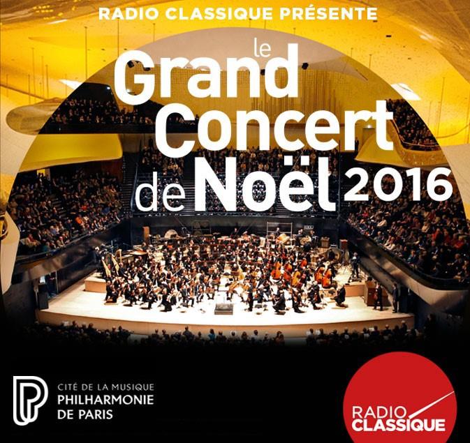 Radio Classique prépare Le Grand Concert de Noël