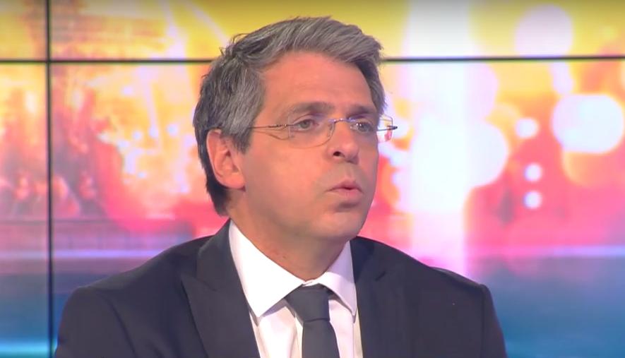 Michaël Darmon officiait jusqu'à présent sur la chaîne d'information i>télé © Capture i>télé