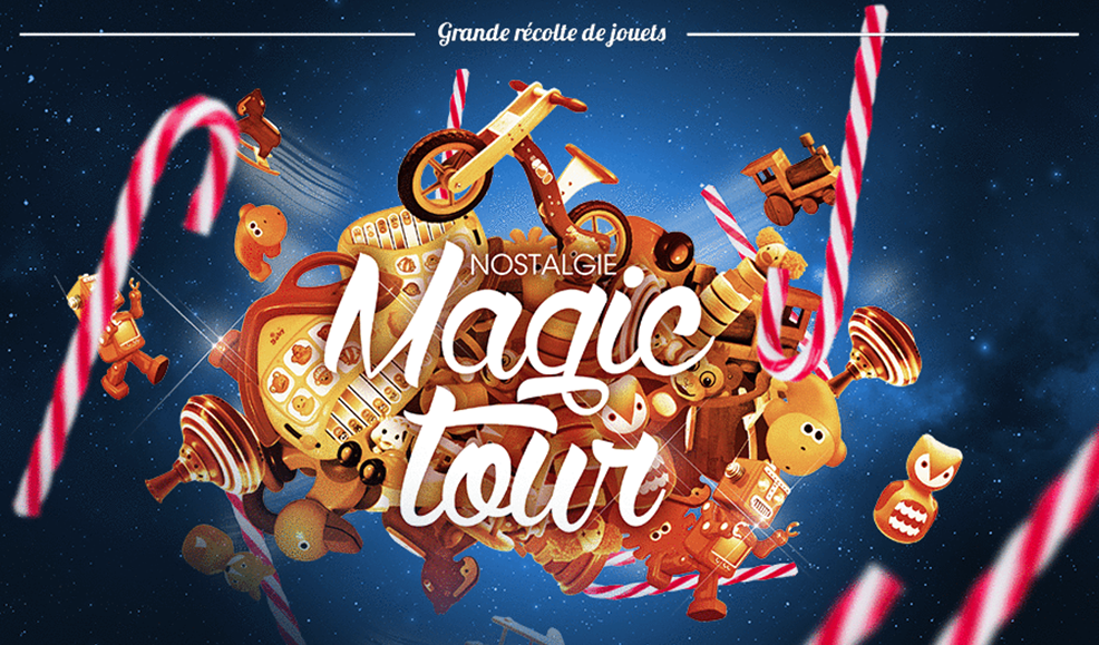 Nostalgie offre des fêtes magiques aux enfants