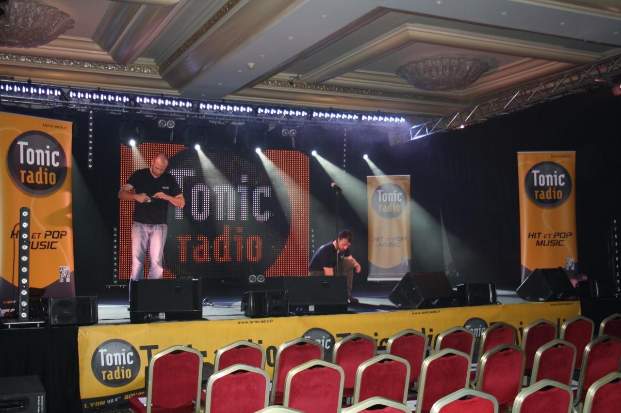 Concert Tonic Radio au Lyon Vert.