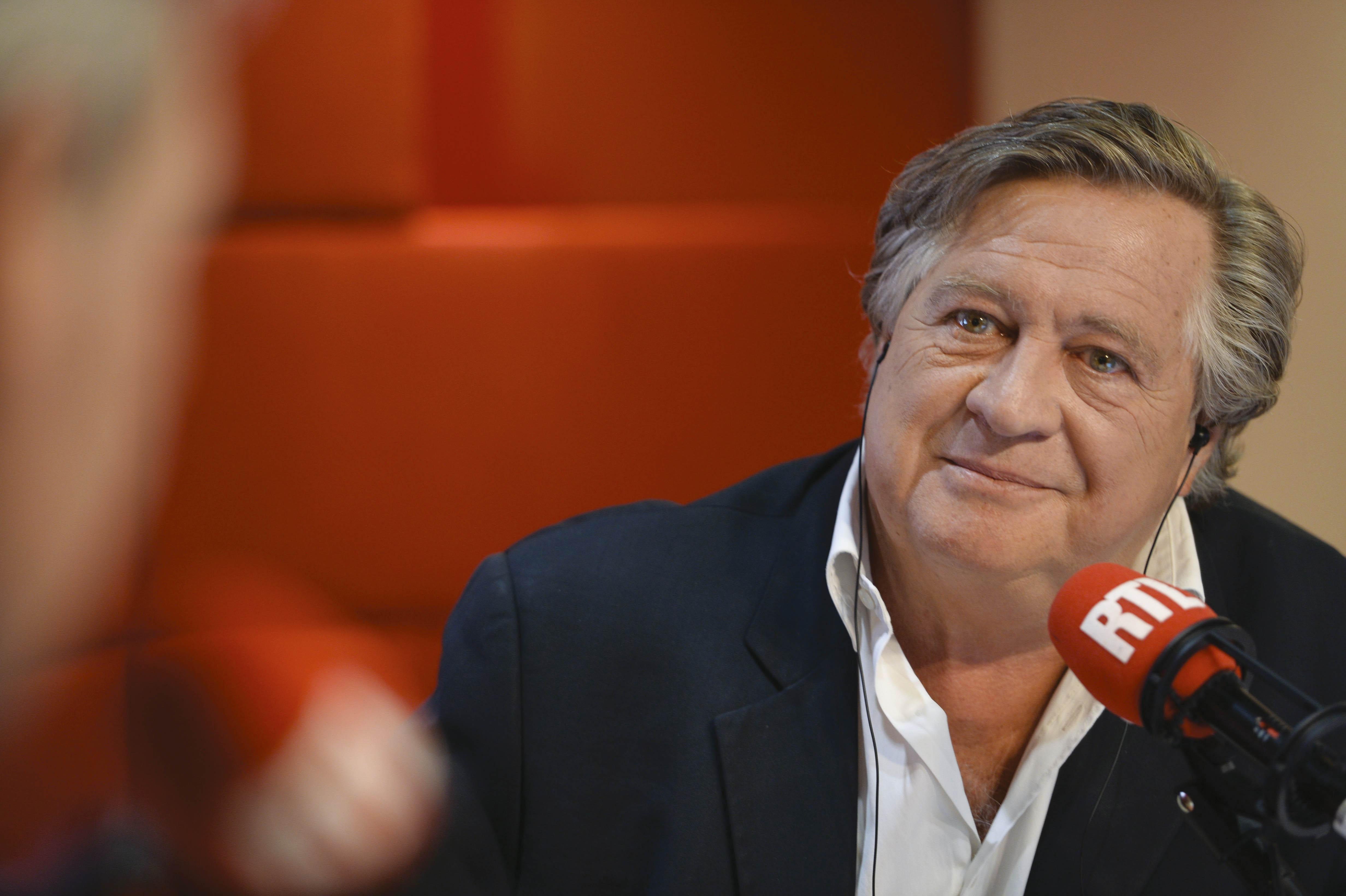 Jacques Pradel au micro de RTL pour son émission L'Heure du crime.  © RTL