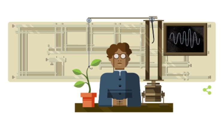 Le Doodle de Google honore Jagadish Chandra Bose