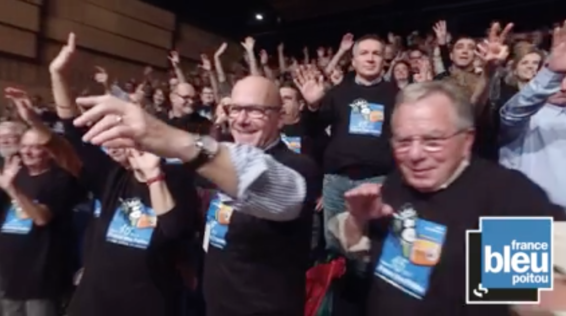 """Les auditeurs font le """"Mannequin Challenge"""" de France Bleu Poitou"""