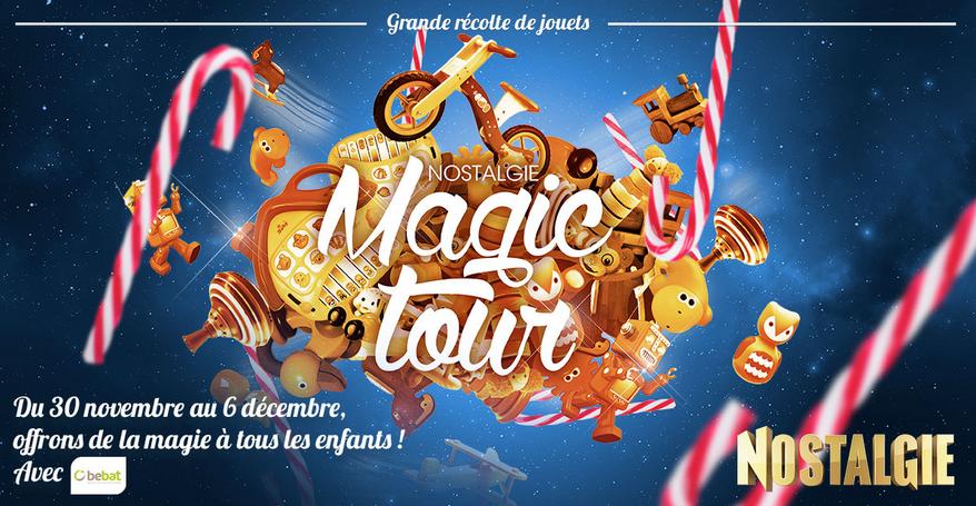 """Belgique : les bonnes récoltes du """"Nostalgie Magic Tour"""""""