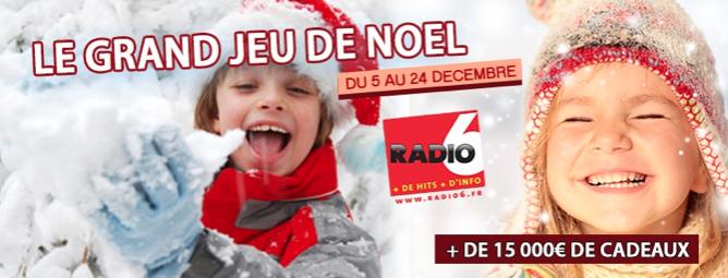 Radio 6 enfile son habit de Père Noël