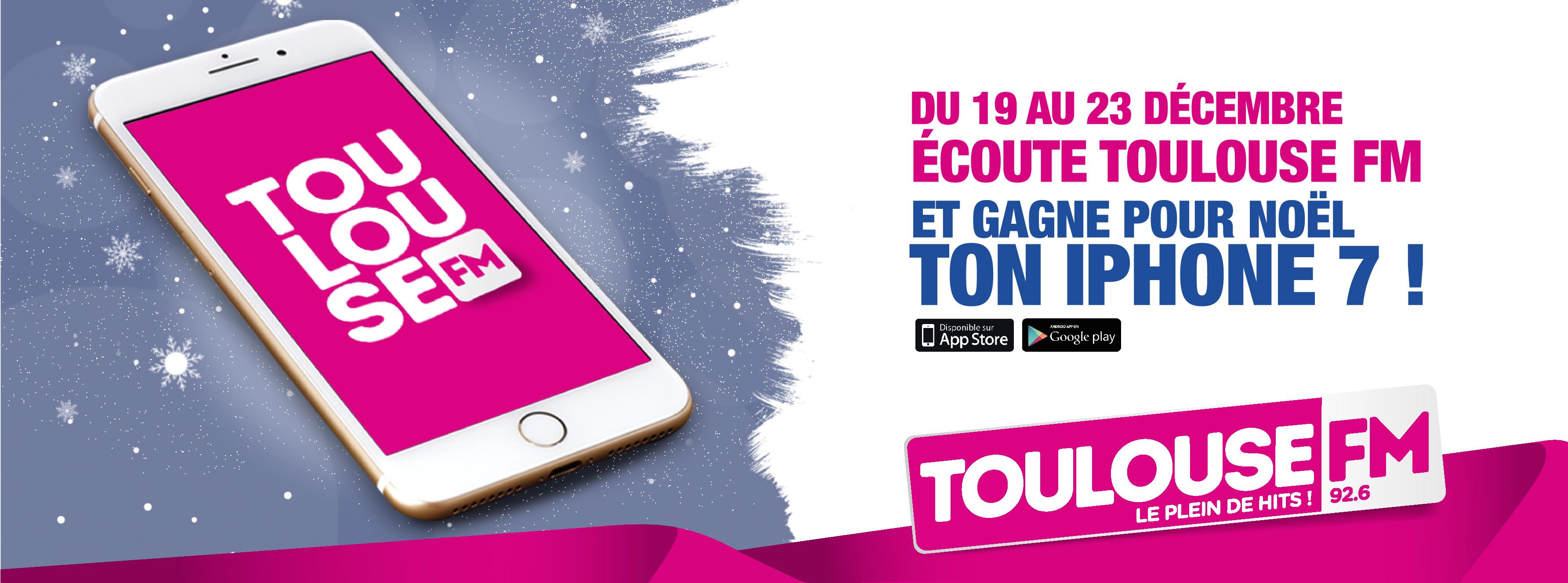 Pour Noël, Toulouse FM offre un iPhone 7