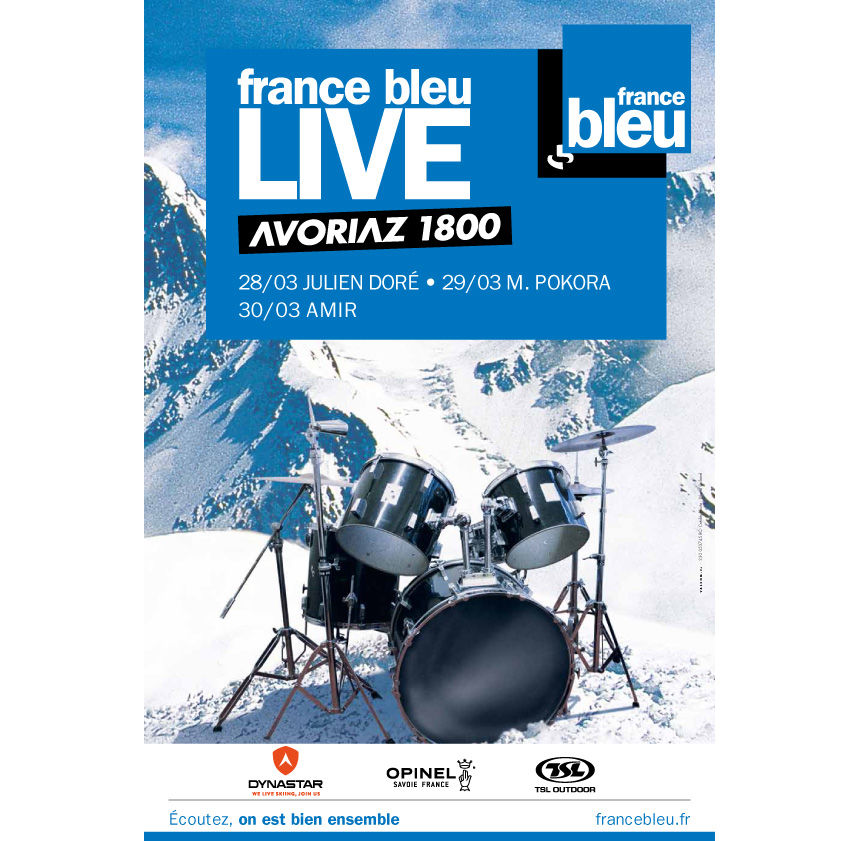 """Premier festival """"France Bleu Live"""" à Avoriaz"""
