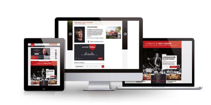 Radio Classique lance son nouveau site web