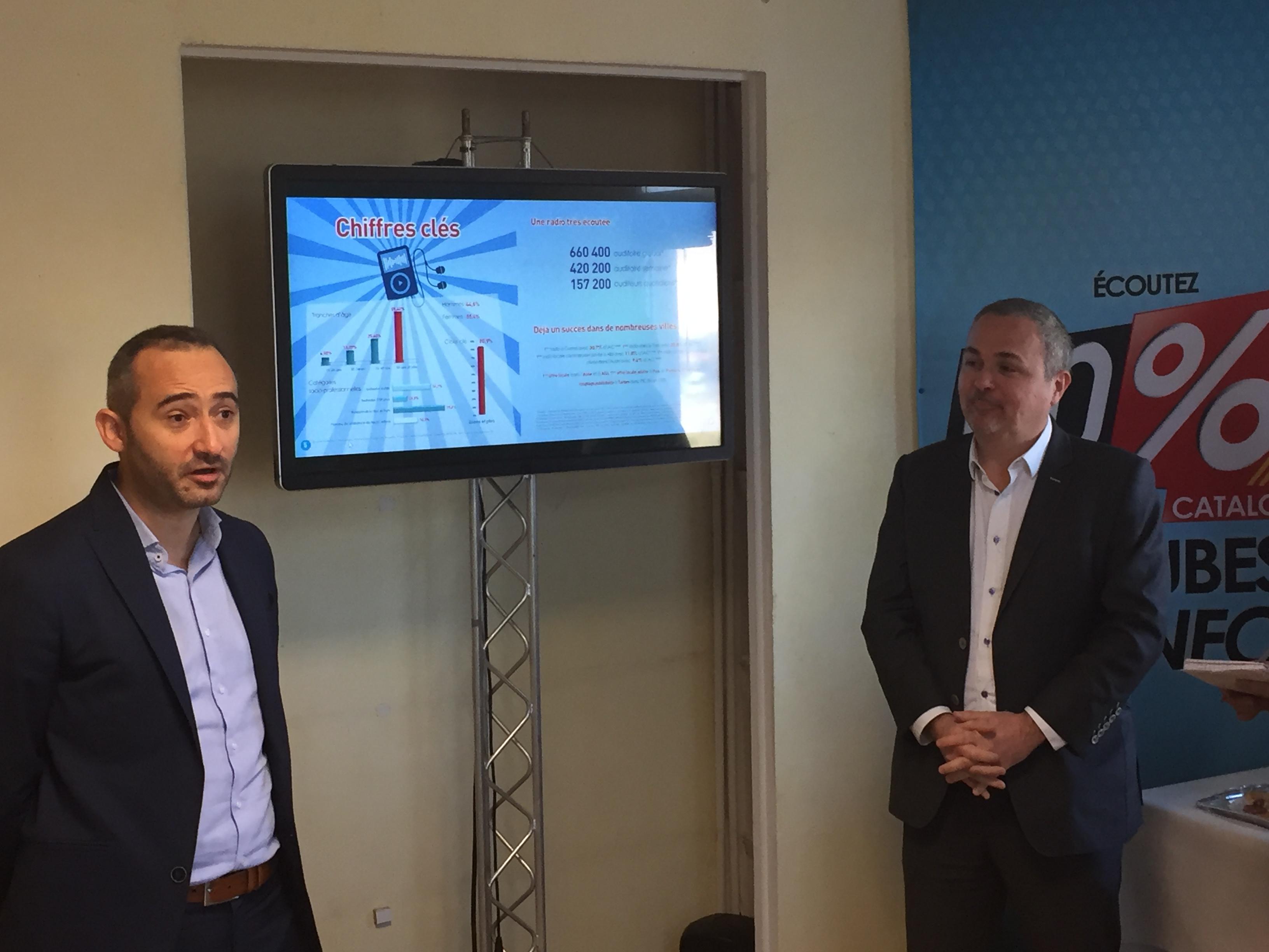Hier matin à Perpignan, Jacques Iribarren et Olivier Fabre ont officiellement annoncé l'arrivée du réseau régional 100% danbs les Pyrénées Orientales