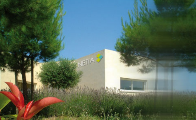 Le siège de Netia dans le sud de la France