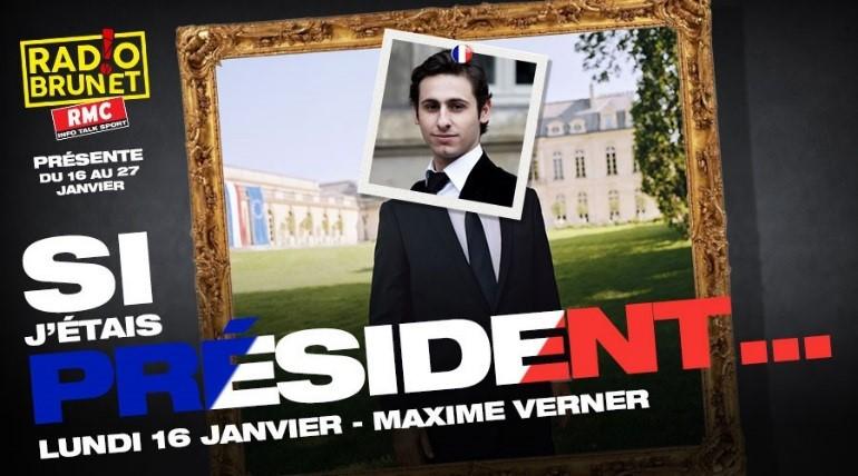 "Radio Brunet lance ""Si j'étais Président"""