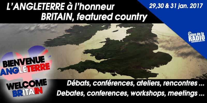 Salon de la Radio : Welcome Britain !