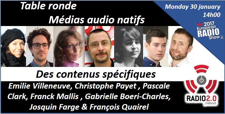 Le Salon de la Radio accueille les Rencontres Radio 2.0