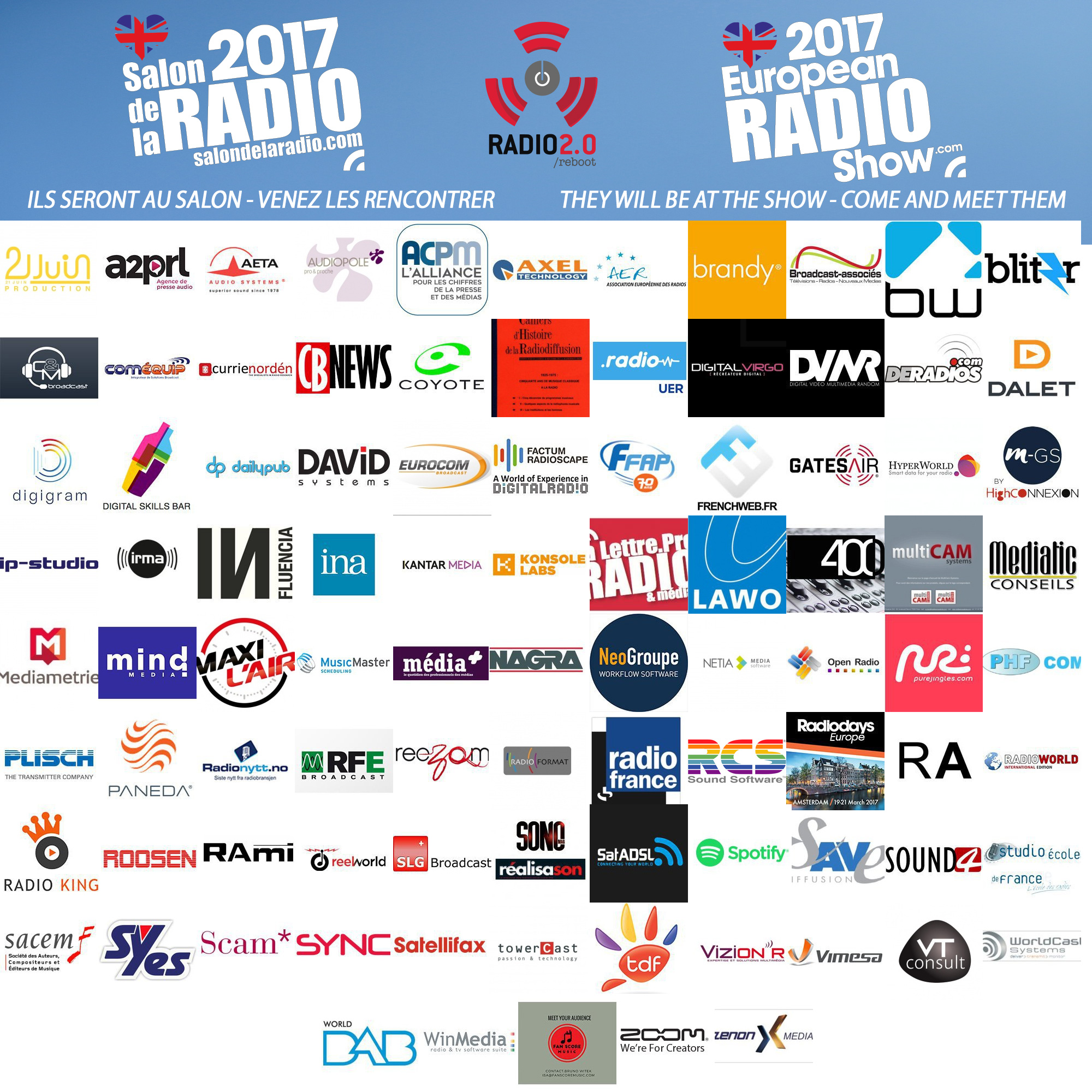 Salon de la Radio : venez les rencontrer !