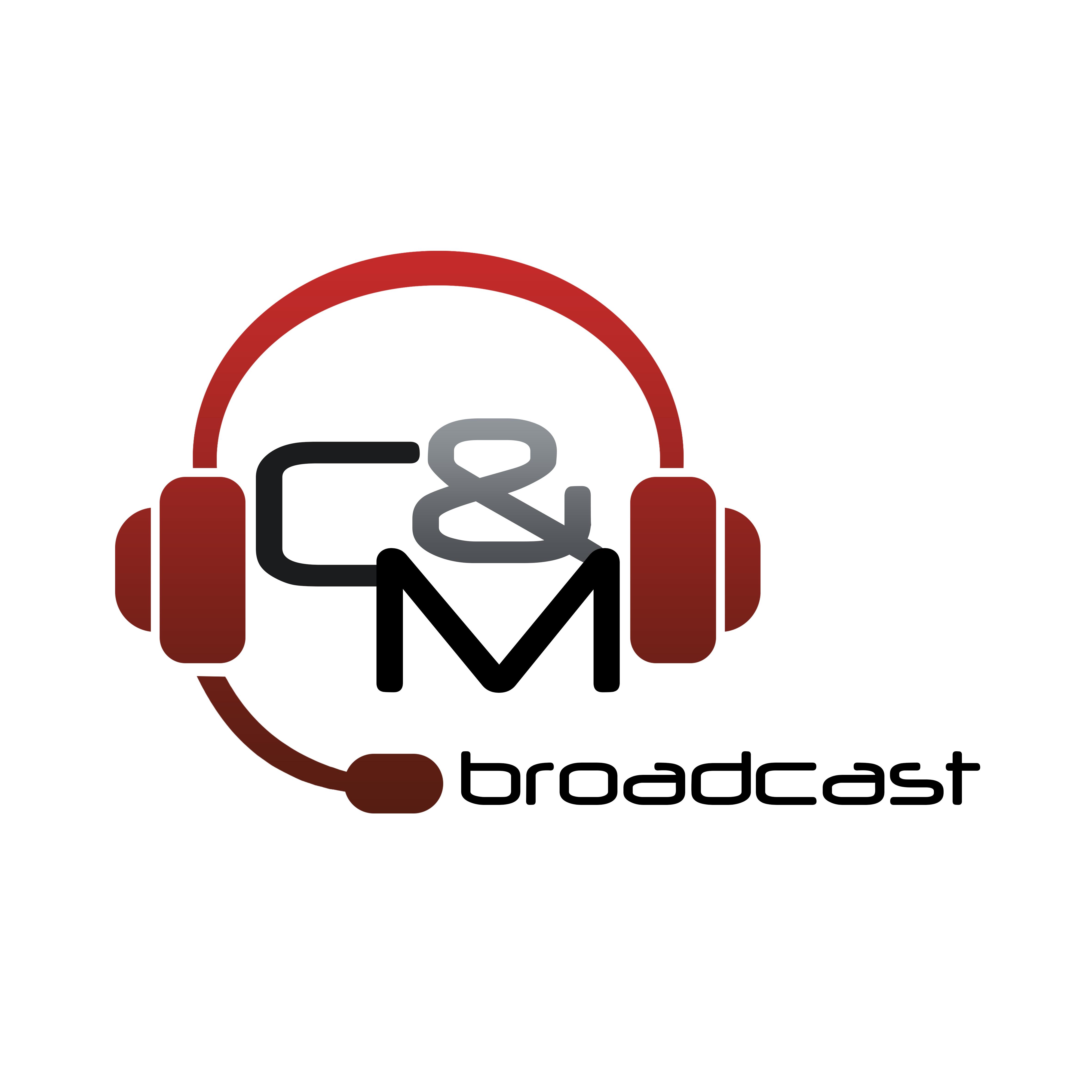 Des personnalités sur le stand de CM Broadcast