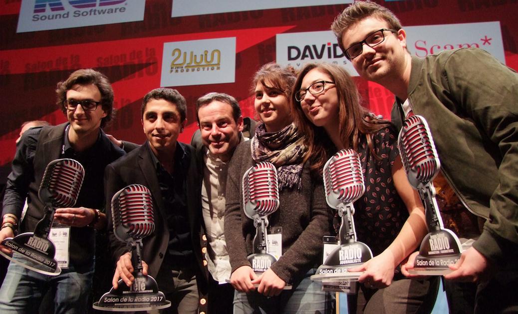 Cinq Jeunes Talents récompensés au Salon de la Radio