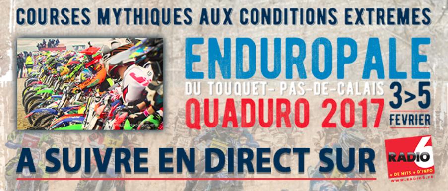 Radio 6 en direct de l'Enduropale du Touquet