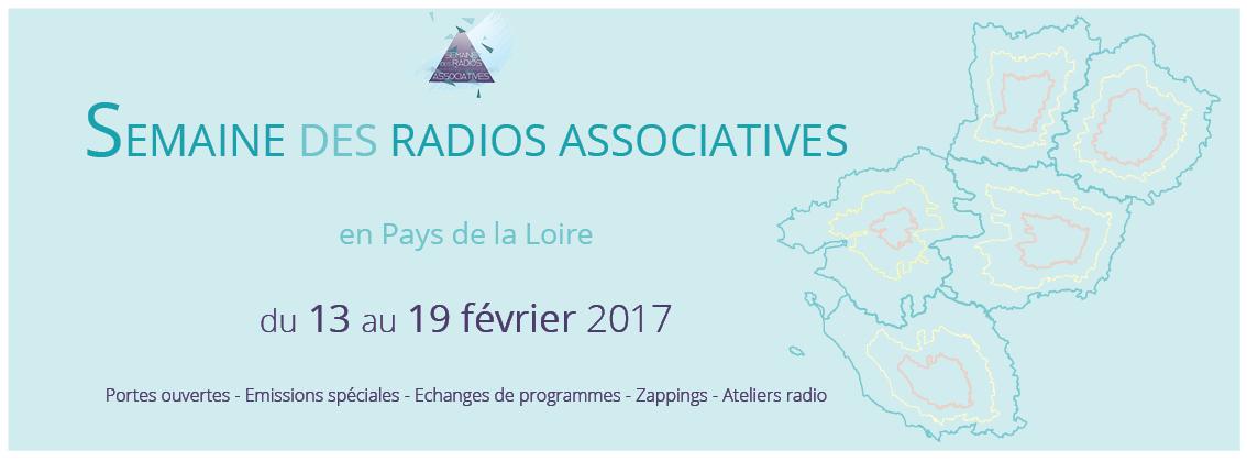 Semaine des radios associatives en Pays de la Loire