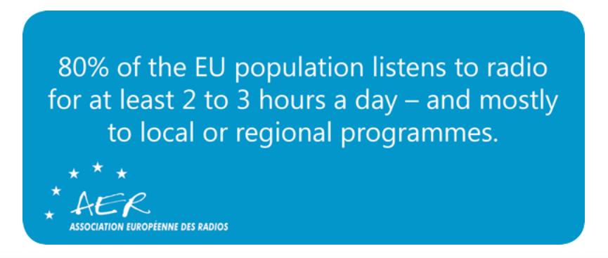 L'AER mise sur la relation entre la radio à ses auditeurs
