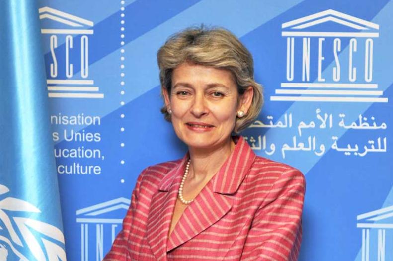 Irina Bokova, directrice générale Organisation des Nations Unies pour l'éducation, la science et la culture