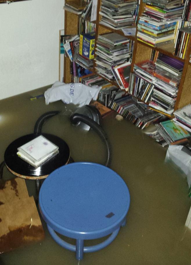 Gros dégât des eaux à Campus Toulouse