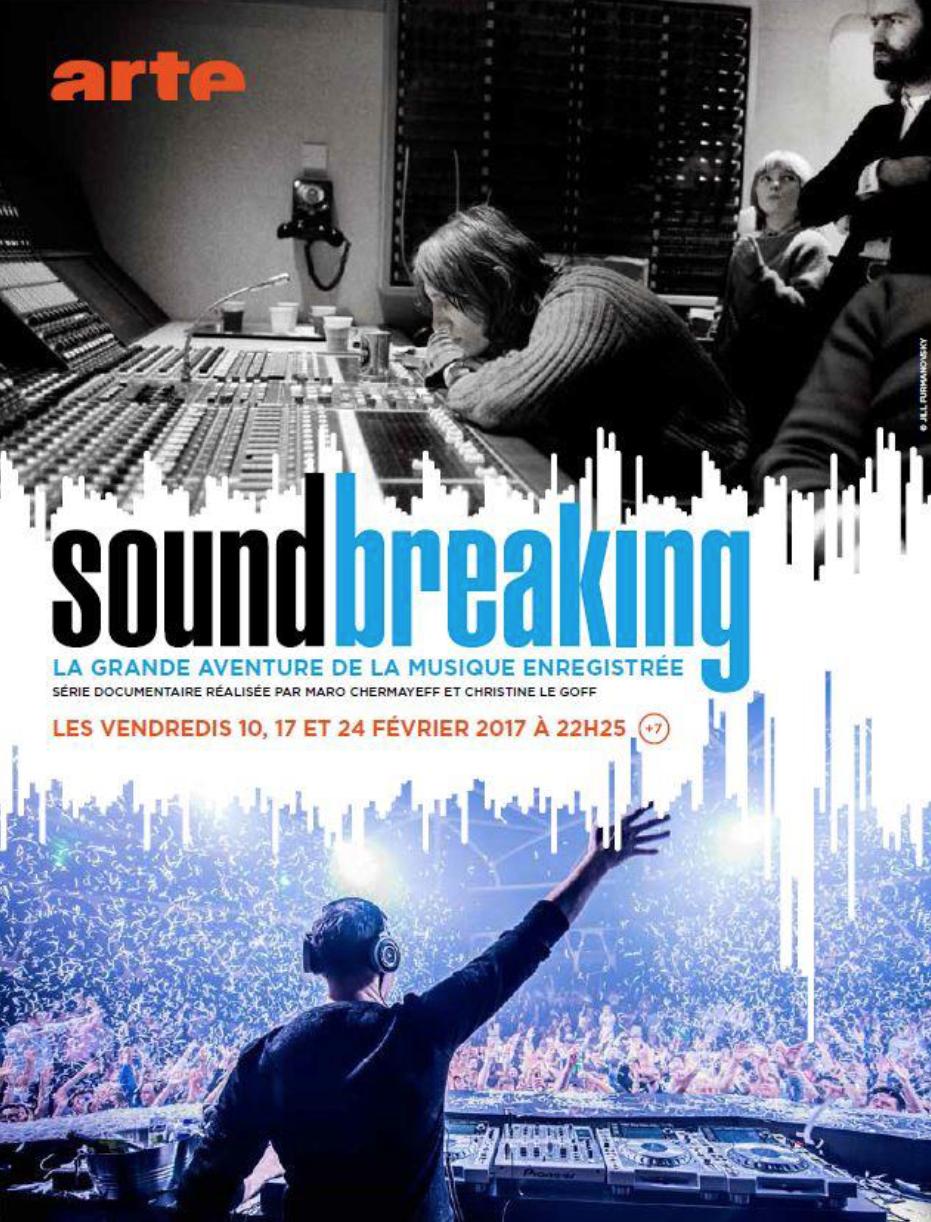 Diffusion de la série Soundbreaking sur FIP