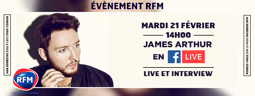 RFM Session VIP avec James Arthur