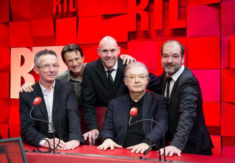 L'équipe de RTL prête à suivre la prochaine cérémonie des César © Romain Boé - Sipa Press