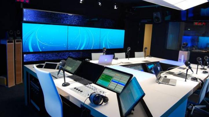 Le nouveau studio de La Prem1ère - © Tous droits réservés