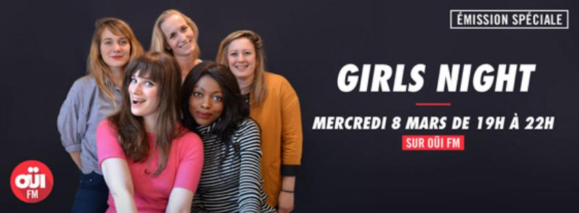 """Une """"Girls Night"""" sur Oüi FM"""