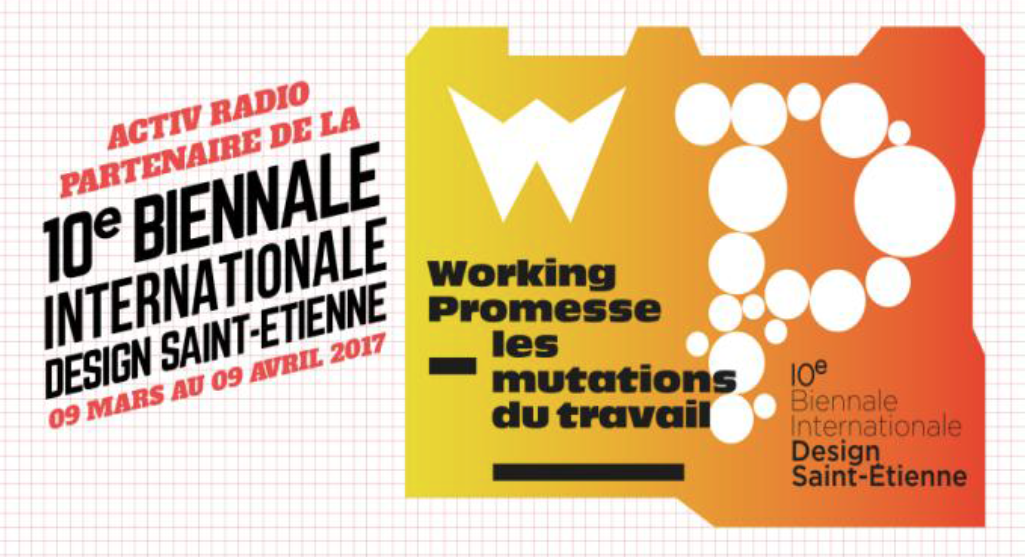 Activ Radio partenaire de la Biennale de Saint-Etienne