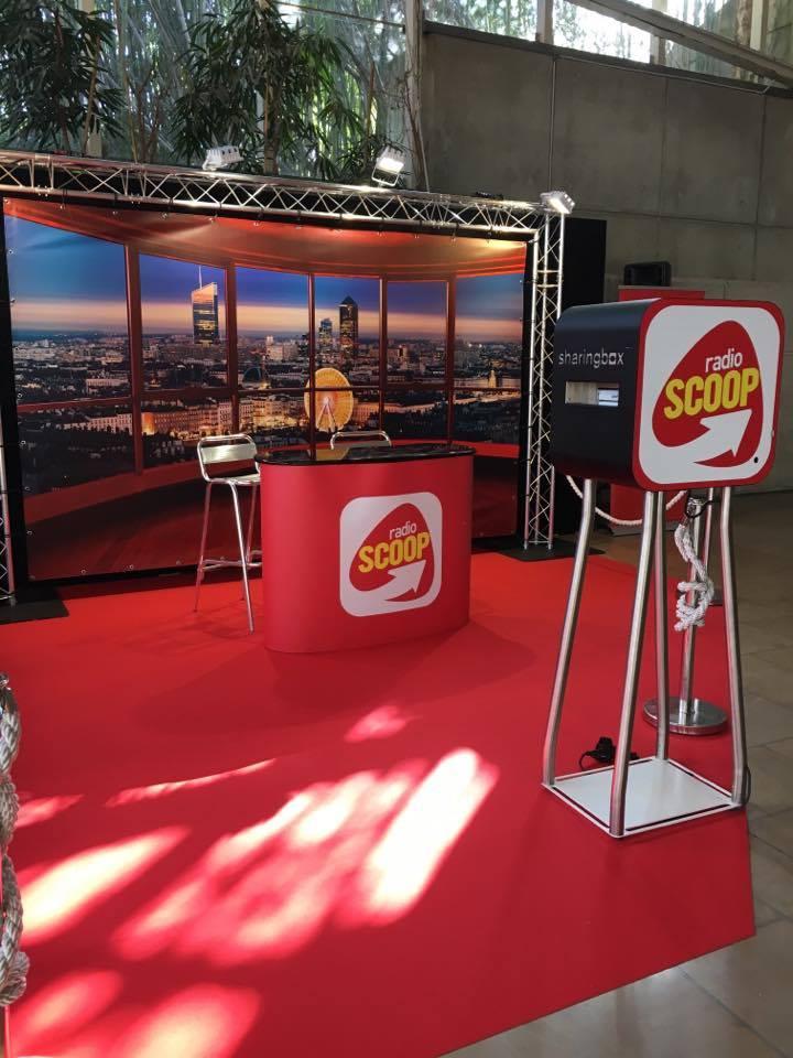 Radio Scoop à la Foire de Lyon