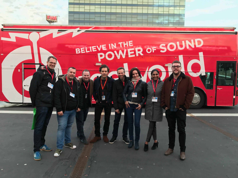 L'équipe de Reelworld aux Radiodays Europe