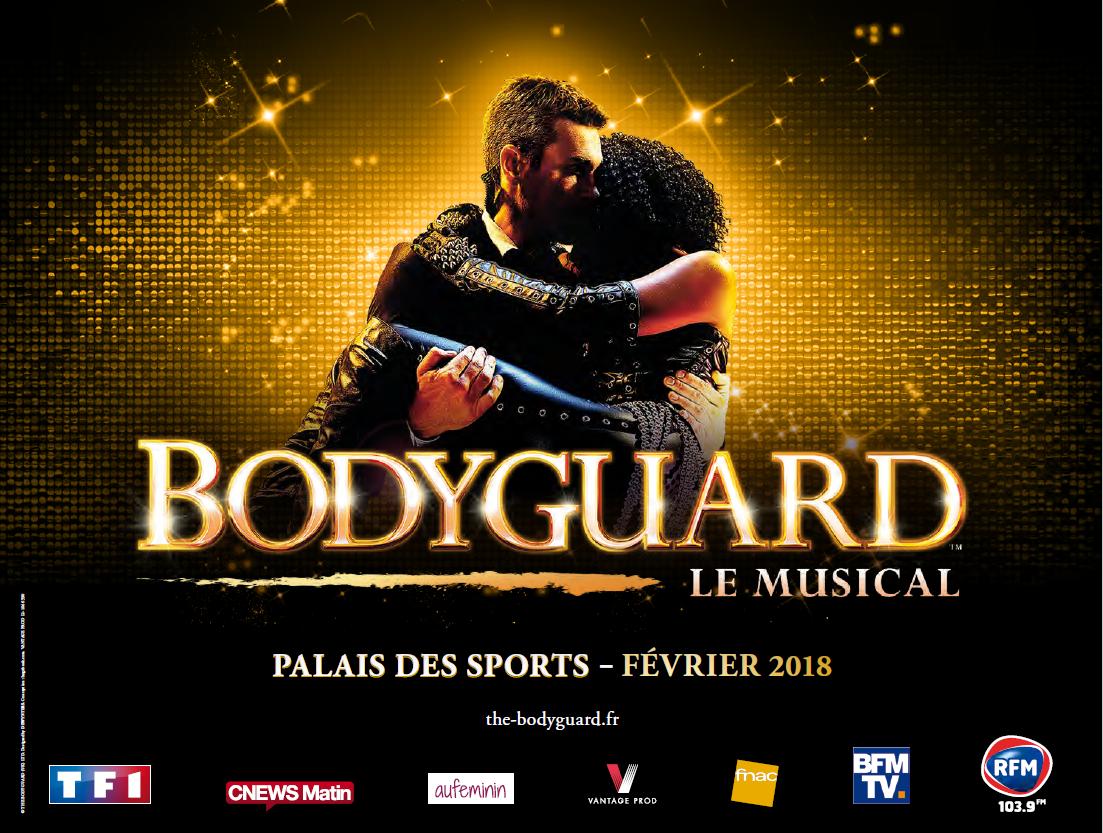 """RFM partenaire de """"Bodyguard le Musical"""""""