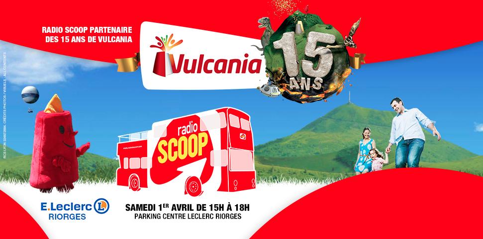 Le bus Radio Scoop célèbre Vulcania
