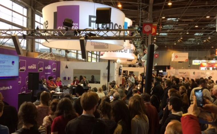 Salon Livre Paris : franc succès pour les émissions en public de Radio France