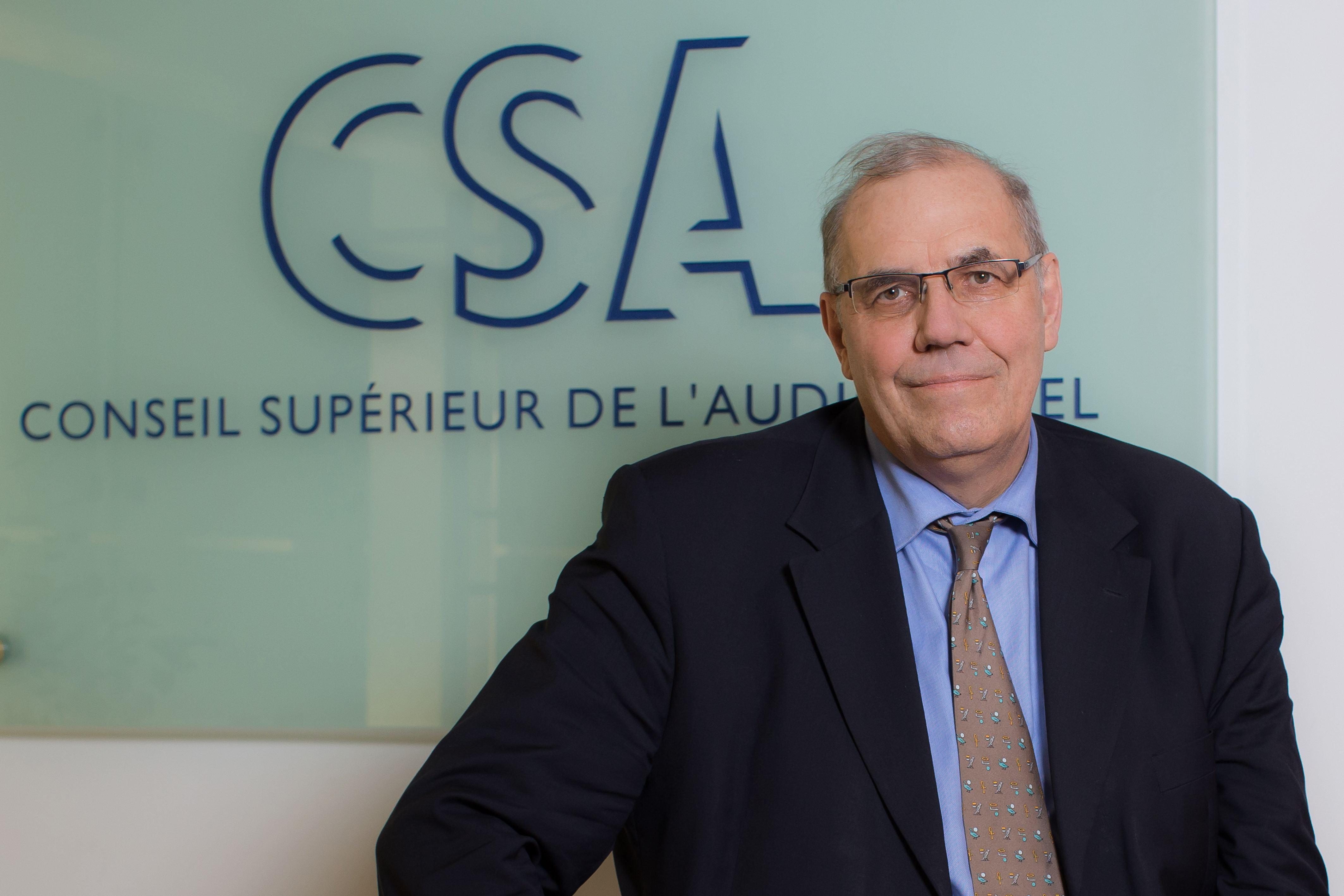 Nommé en 2015 au CSA, Nicolas Curien a siégé pendant 6 ans à l'ARCEP. / Crédit : Romuald Meigneux