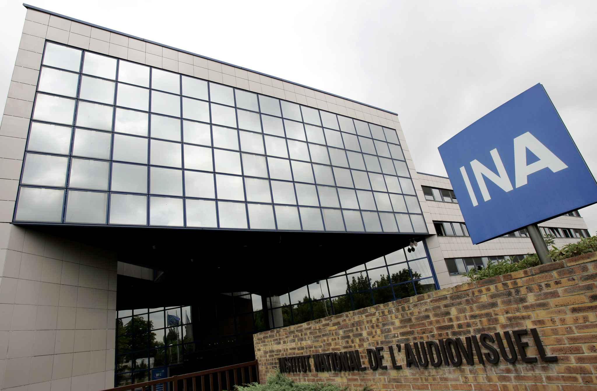 Le siège de l'INA à Bry-sur-Marne.