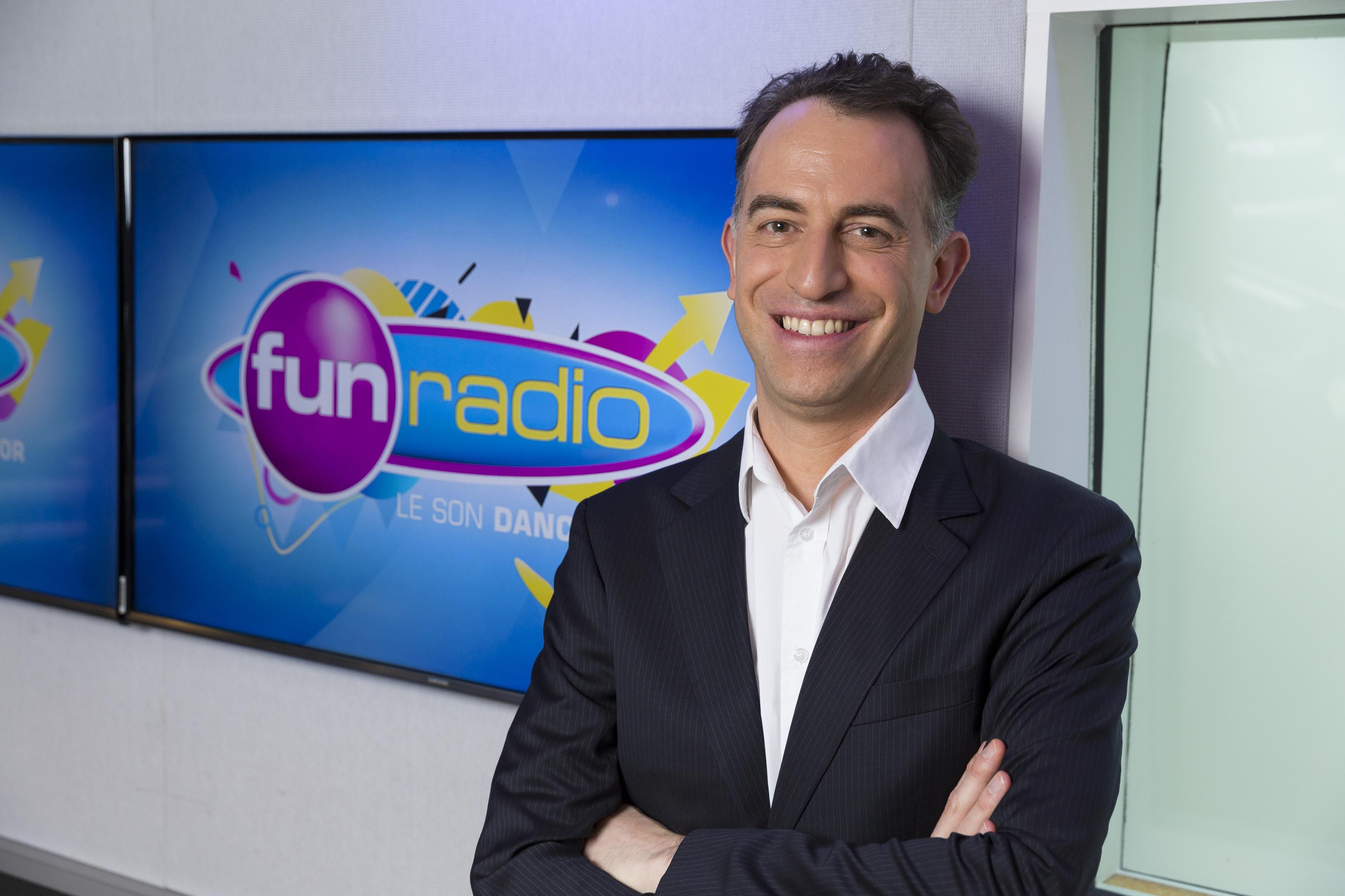 Tristan Jurgensen dirige Fun Radio, une musicale de RTL Group © Sipa