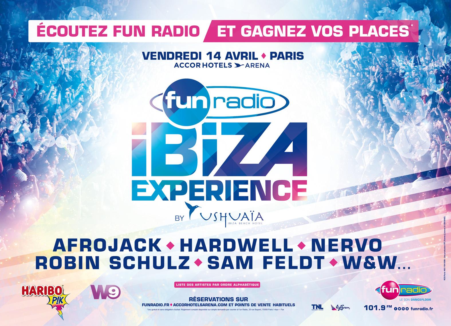 Coulisses de la Fun Radio Ibiza Experience