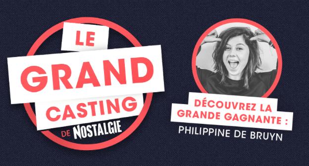 """Nostalgie : Philippine remporte """"Le Grand Casting des Animateurs"""""""