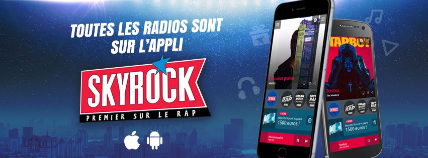 "Skyrock pointe ""la fraude massive"" de Fun Radio"