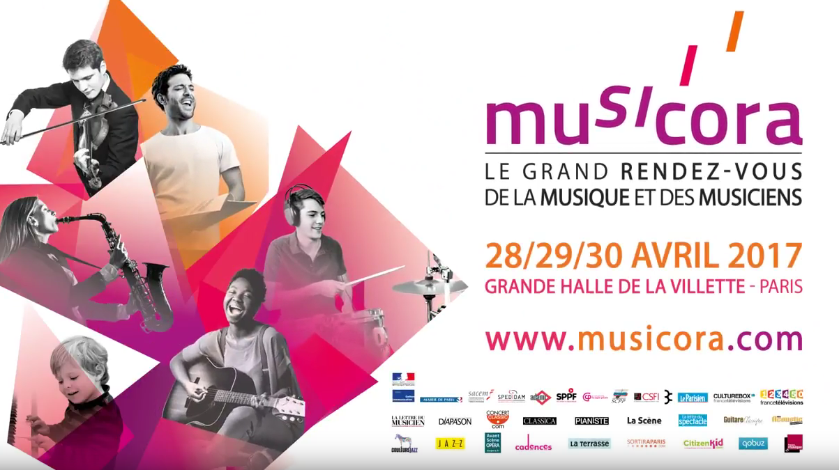 France Musique en direct de Musicora, à Paris