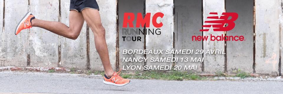"""Le """"RMC Running Tour"""" débarque dans toute la France"""