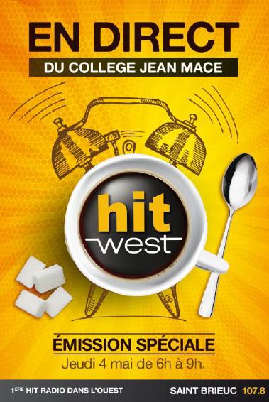 Hit West installe son studio dans une salle de classe