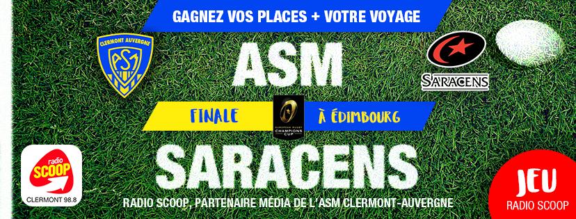 Radio Scoop supporte l'ASM Clermont-Auvergne