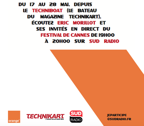 Sud Radio en direct du Festival de Cannes