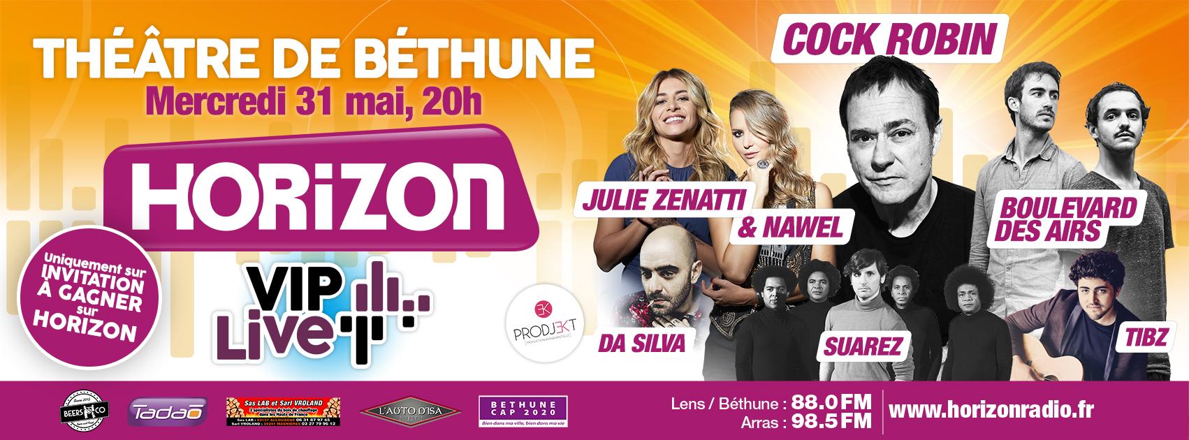 "Horizon prépare un ""Horizon VIP Live"""