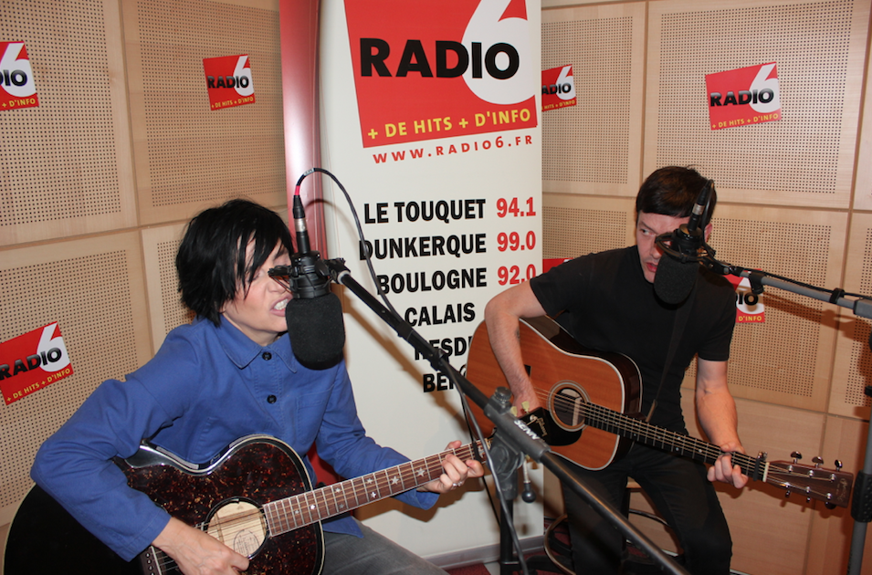 Texas en visite exclusive chez Radio 6