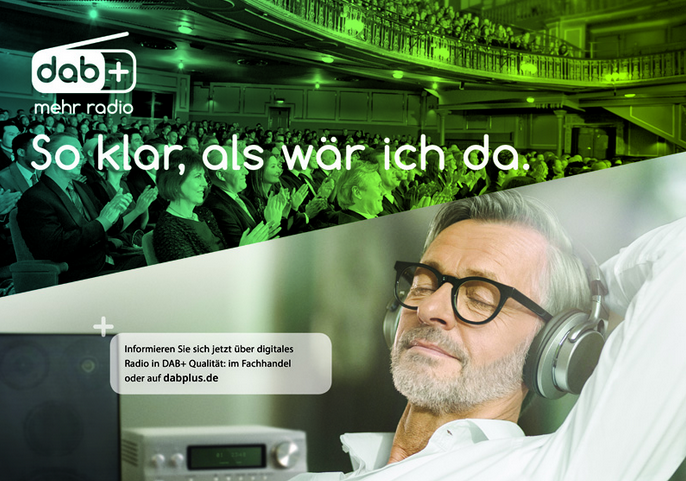 """Mehr Radio"" : la campagne de promotion DAB+ en Allemagne"